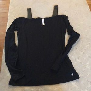 Cold shouldered long sleeve tee by fabletics